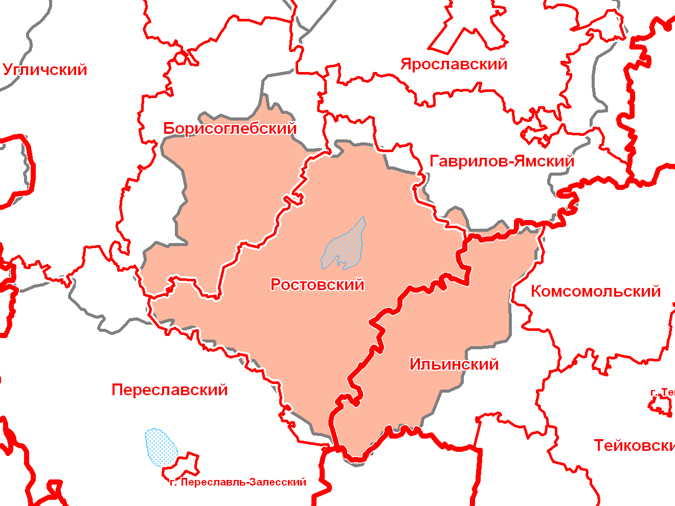 Ростовский уезд ярославской губернии